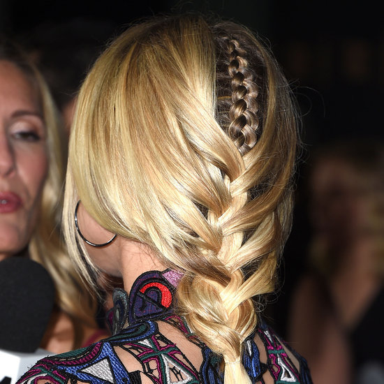 Diane Kruger's Double French Plait Hairstyle