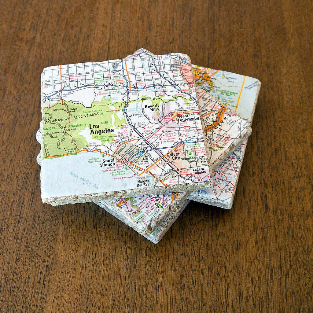 Travel Tile Coaster