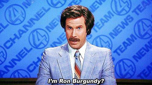 When Ron Questions His Own Name