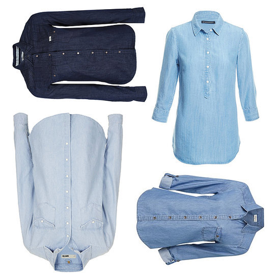 Chambray Denim Shirts to Shop Online