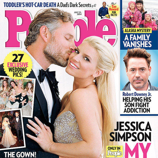 Jessica Simpson and Eric Johnson's Wedding Photos