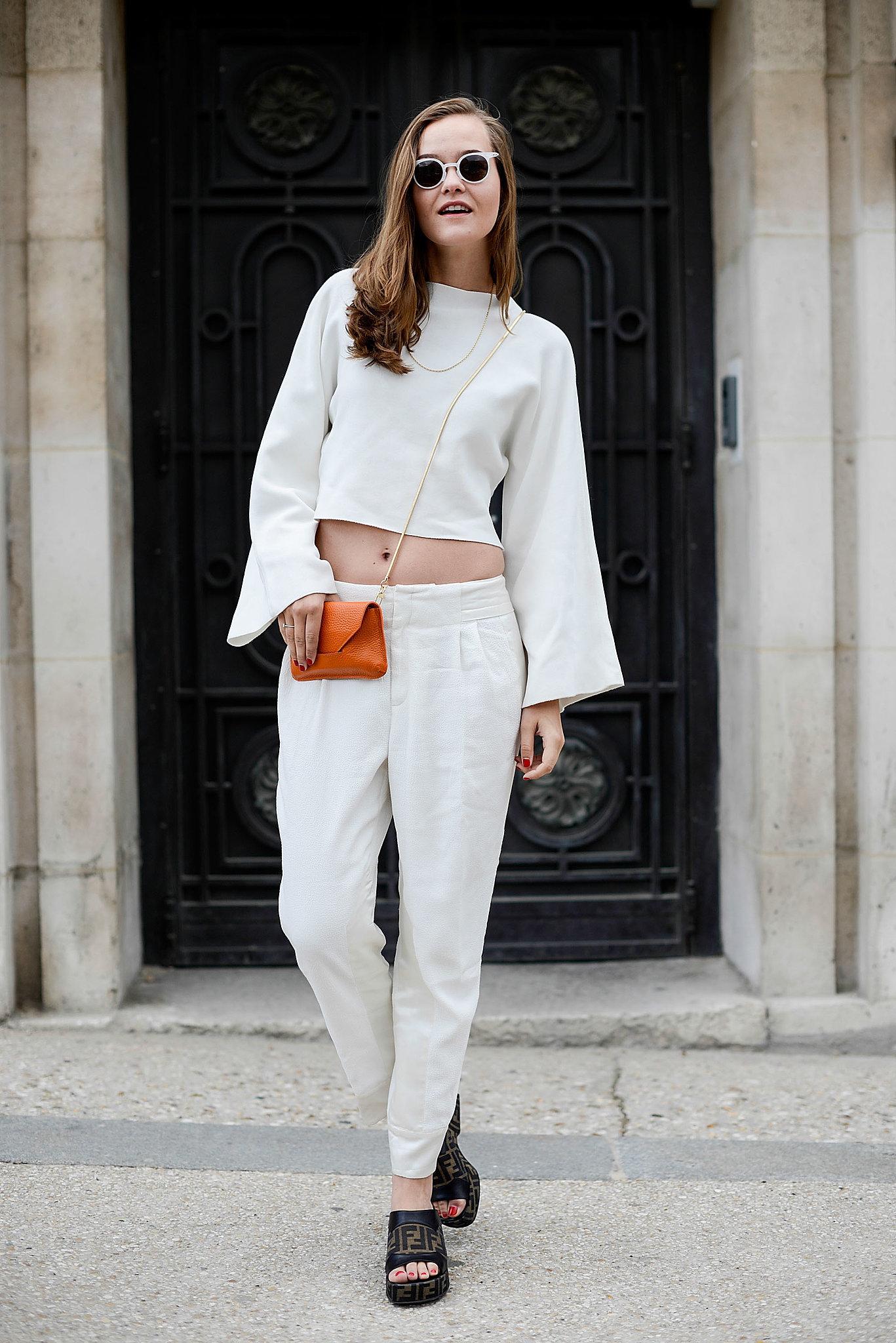 Couture Fashion Week Street Style Popsugar Fashion