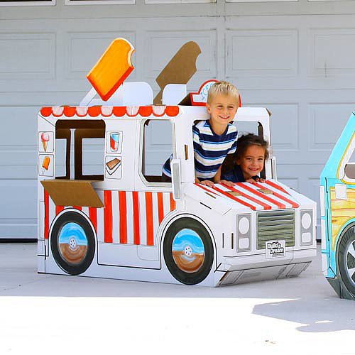 A Customizable Cardboard Wagon