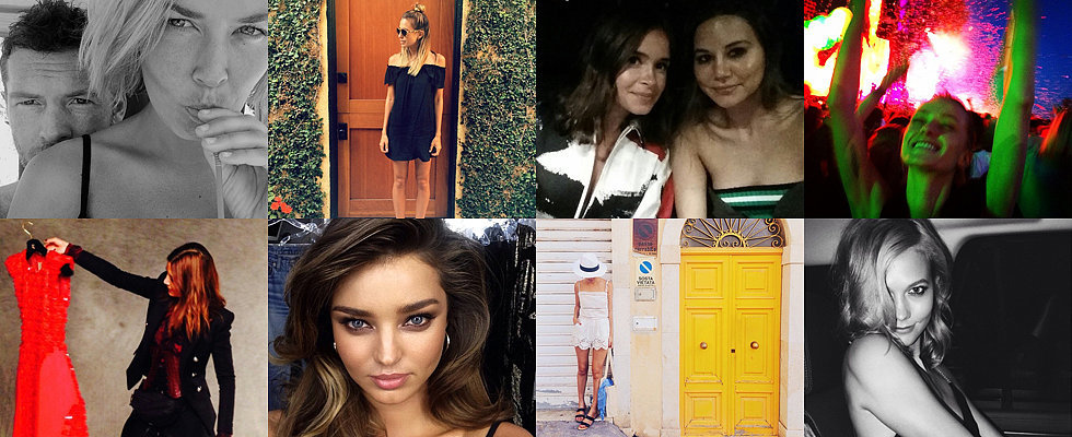 The Insta-Edit: Miranda Kerr, Lara Bingle and Sam Worthington, Karlie Kloss & More!