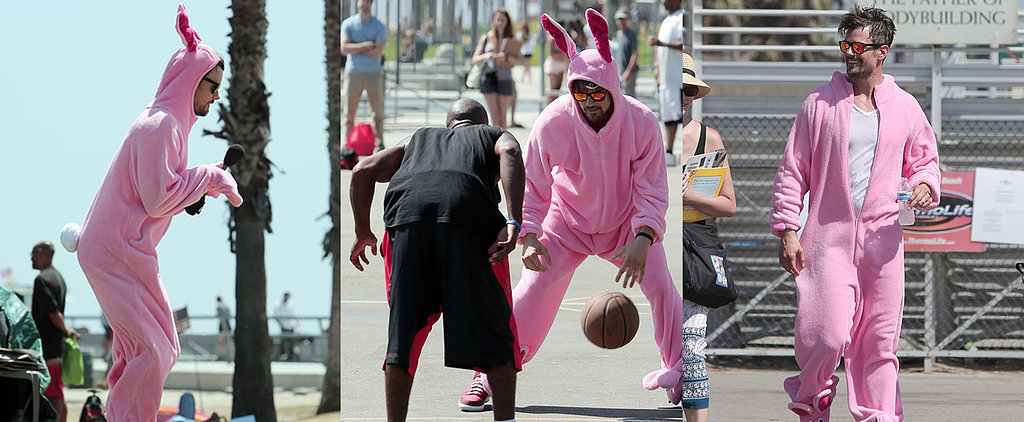 11 Things That Happen When Josh Duhamel Dresses as a Pink Bunny