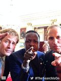 Prince Harry and Prince William took their first selfie when they launched a search for charitable young people for the Queen's Young Leaders Awards.  Source: Twitter user QueensLeaders