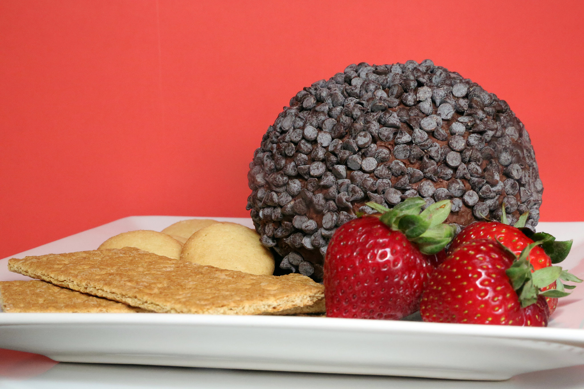Chocolate Chip Cheese Ball | 32 Tantalizing Chocolate Recipes ...