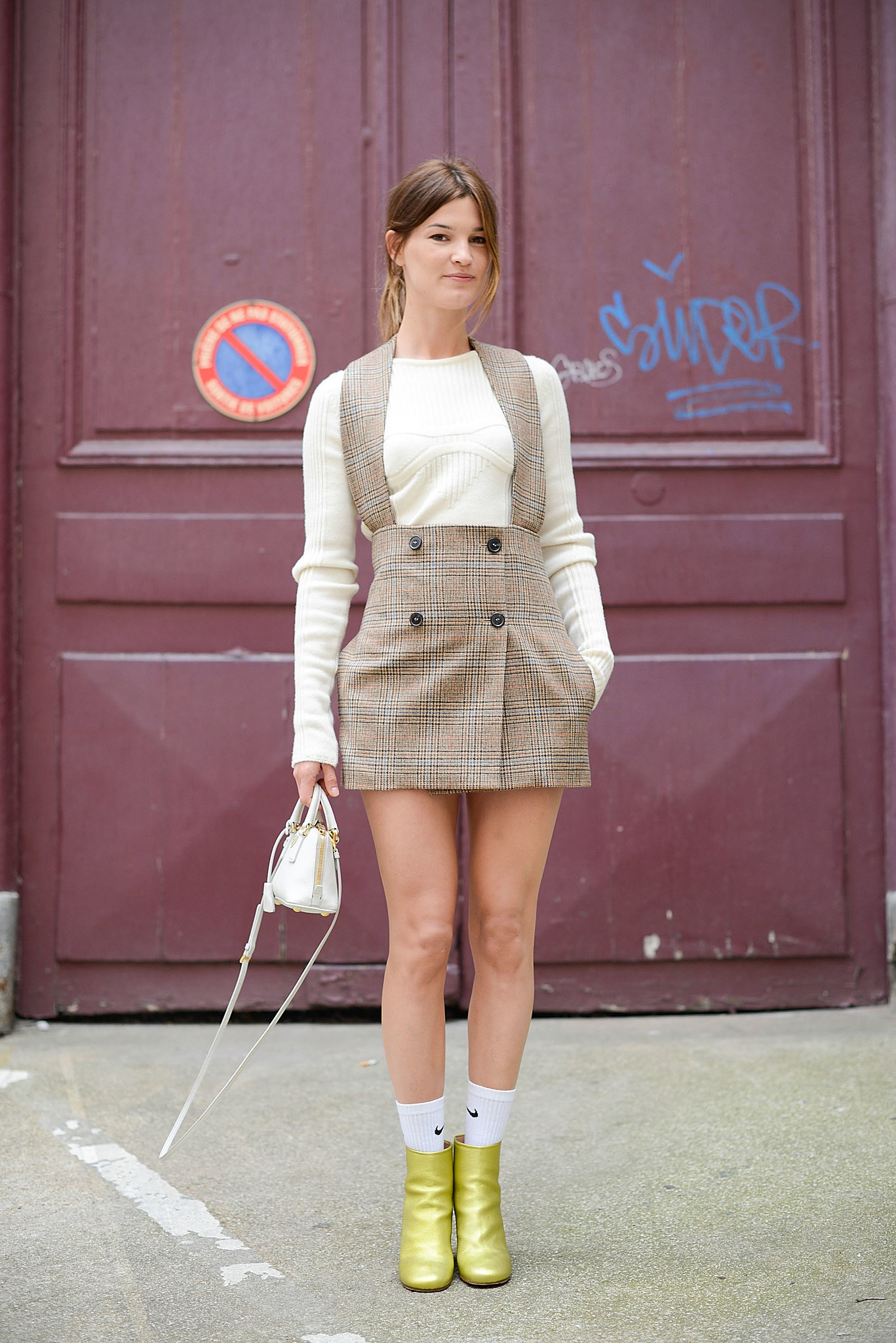 Couture Fashion Week Street Style Take A Time Out With