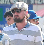 Scraggly Leonardo DiCaprio goes shopping with friends in West Hollywood