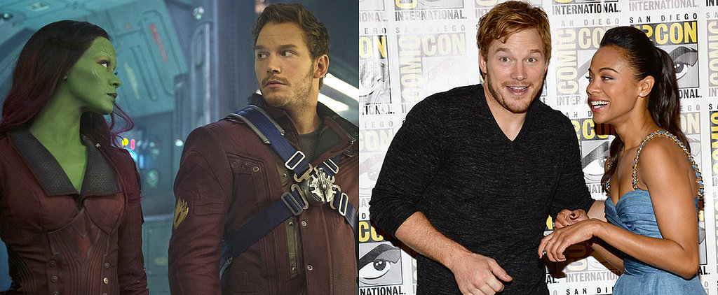 See the Guardians of the Galaxy Cast Transform Before Your Eyes