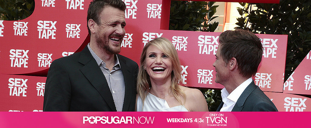 This Week on POPSUGAR Now: Cameron and Jason Spill on Sex Tape
