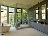 Go Au Naturel in the Bath With Beautiful Stone (11 photos)
