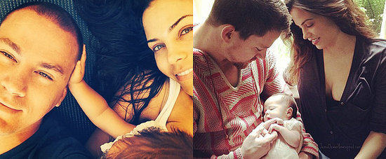 Channing and Jenna Celebrate Their Anniversary With Everly