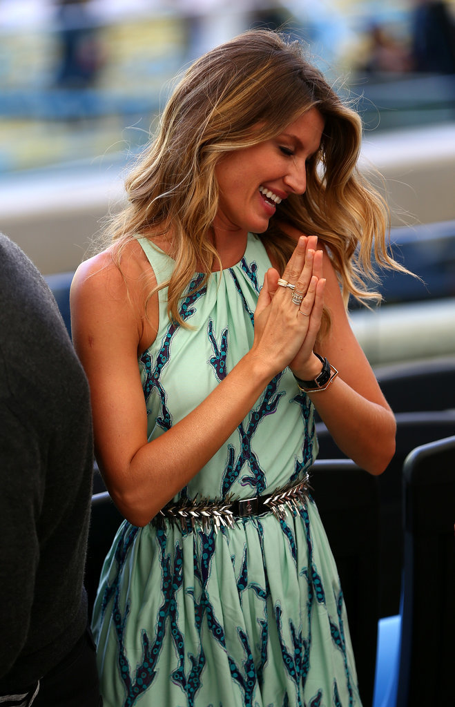 Gisele Bündchen attended the 2014 World Cup final.