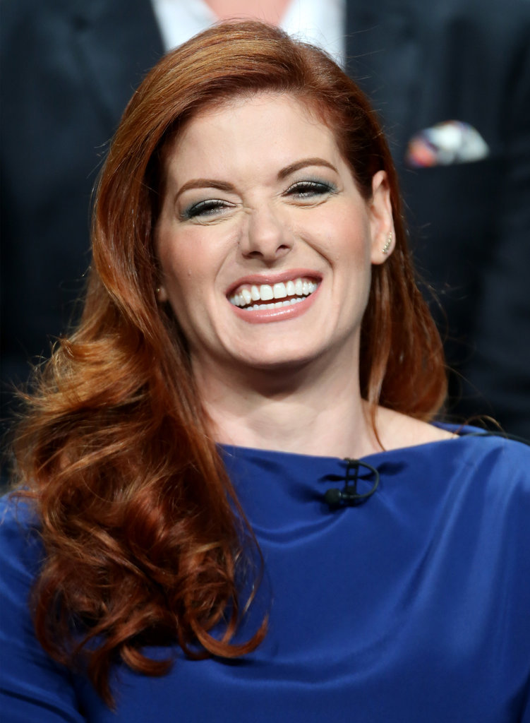 """Everything has to do with murder."" — Debra Messing"