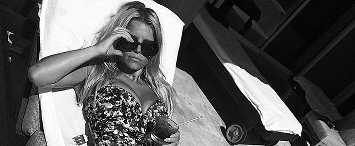 Jessica Simpson Reintroduces Herself With a Sexy Swimsuit Snap
