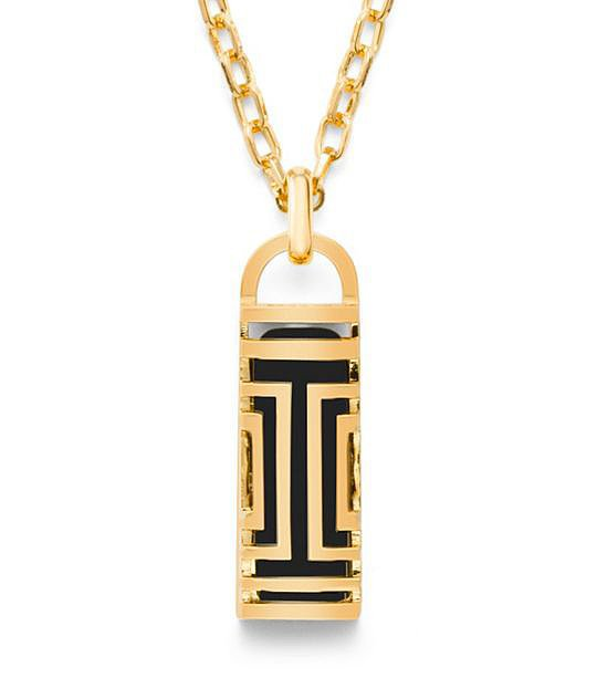 Tory Burch For Fitbit Fret Pendant Necklace ($175)