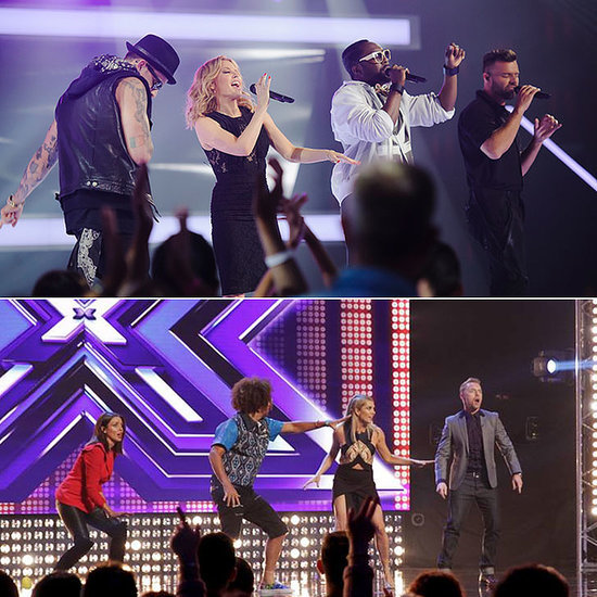 The Voice and The X Factor Australia Similarities