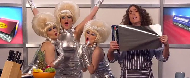 "Weird Al Turns Lorde's ""Royals"" Into a Song About ""Foil"""