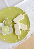 Limoncello and Lime Popsicles