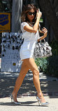 Kate Beckinsale in a White Romper
