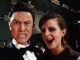 If it weren't for the Oscars, would Joseph Gordon-Levitt and Emma Watson have ever had the chance to take an animated picture like this?  Source: Facebook user Joseph Gordon-Levitt