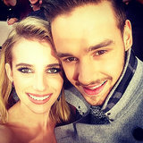 Emma Roberts and Liam Payne hit us with their picture-perfect looks in this adorable picture, which she took on the red carpet at the 2013 American Music Awards.  Source: Instagram user emmaroberts