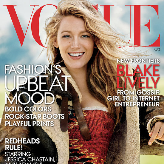 Blake Lively Pictures Interview New Website In Vogue 2014