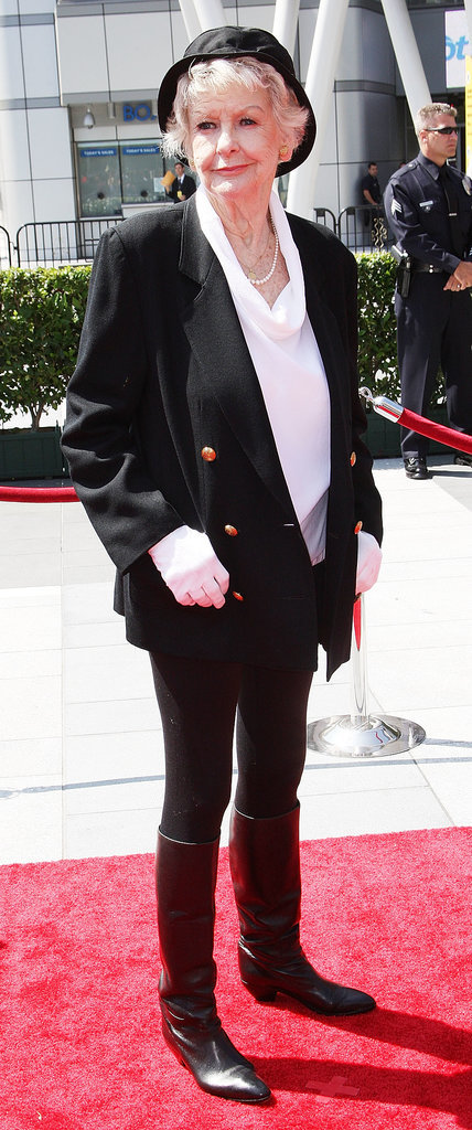 Elaine Stritch at the 2009 Emmy Awards