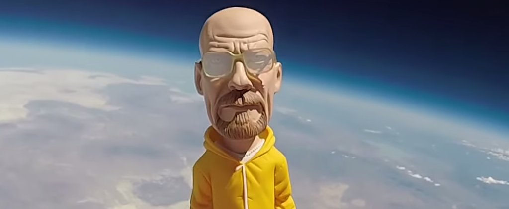 Walter White Takes a Trip to Space