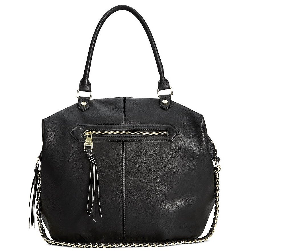 Steve Madden Black Tote Bag