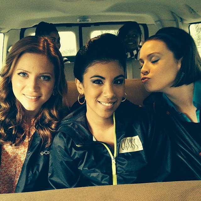 Brittany Snow, Chrissie Fit, and Shelley Regner had fun. Source: Instagram user pitchperfectmovie