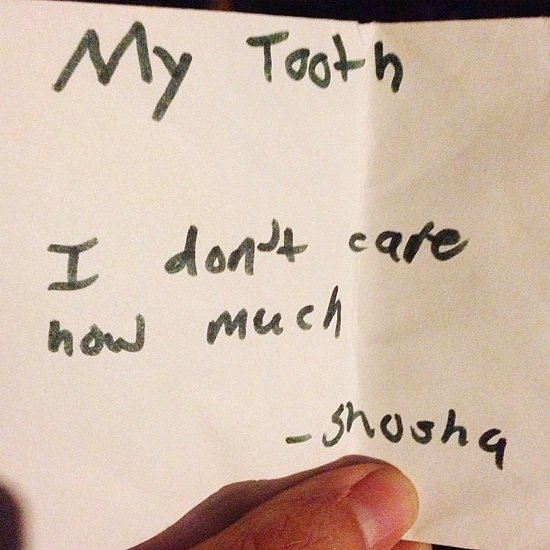 37 Kids (and 1 Mom) Who've Got This Tooth Fairy Thing Figured Out