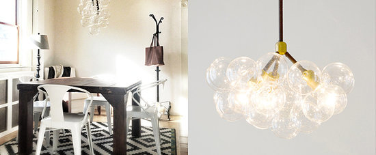 DIY: Bubble Chandelier