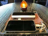 Jose Garces' Volver Serves Guests Cell Phone Chargers on Actual Silver Platters