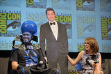 To promote their movie Megamind in 2010, Will Ferrell and Tina Fey brought a cardboard cutout of their costar, Brad Pitt, onstage with them.