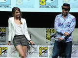 Keri Russell and Andy Serkis seemed to have an adorably awkward moment onstage in 2013.