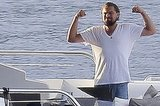 Leonardo DiCaprio Does Karate On A Yacht