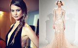 5 Gowns Inspired by Behati Prinsloo's Blush Wedding Dress!