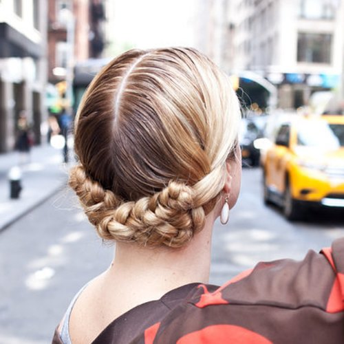 The Milkmaid Braid Is Back With a Twist