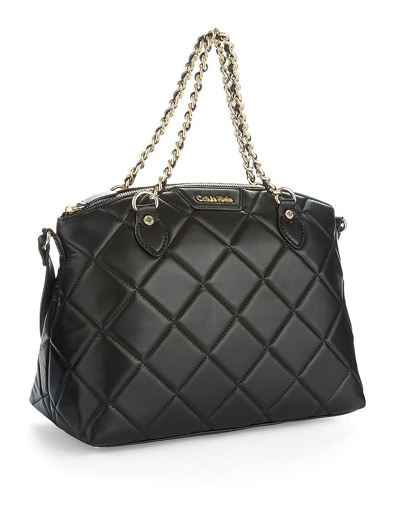 Calvin Klein Sutton Quilted Satchel