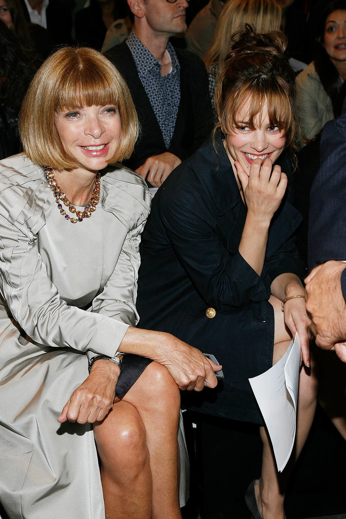 When She Knew Exactly How Cool It Was to Sit by Anna Wintour