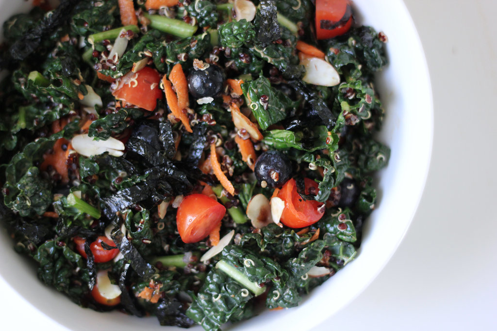 Kale, Quinoa, and Blueberry Salad