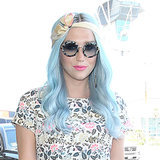 Celebrities Pastel Coloured Dyed Hair