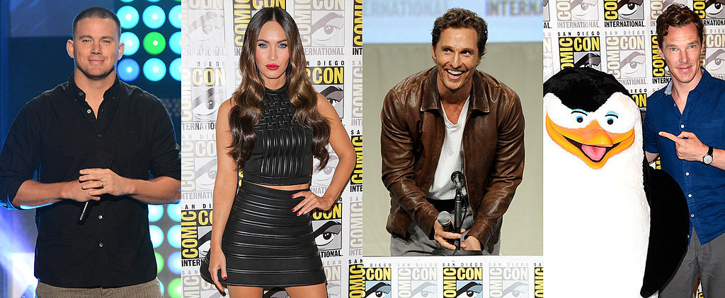 Stars Kick Off Comic-Con!