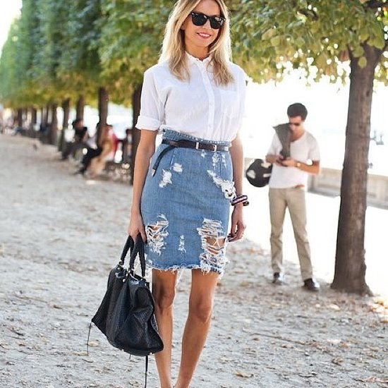 15 Ways to Wear Summer Denim, Without Ever Putting On Your Jeans