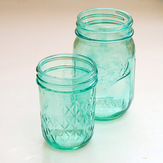 DIY the Prettiest Tinted Glass Jars