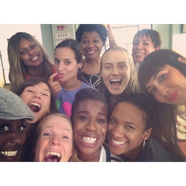 Is there anything better than an OITNB group selfie? Source: Instagram user oitnb