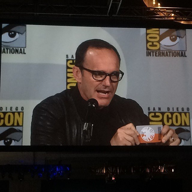 Basically Clark Gregg Is Coulson