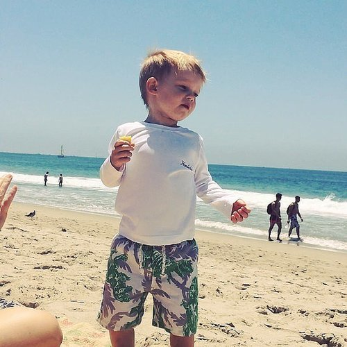 Hilary Duff's Son Luca Dances to Chasing the Sun | Video